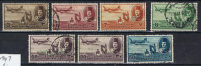 Egypt 1947 Air selection to 50 mills SG 323-26, 329, 331 Used