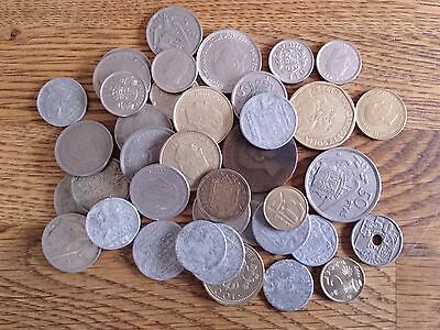 Collection Job Lot Old Spain Coins