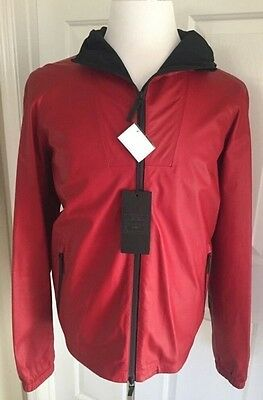NWT Retail Price $ 3660  Gucci Leather  Jacket, 42R US (52R Euro) Made in Italy