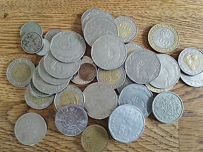 Collection Job Lot Old Portugal Coins