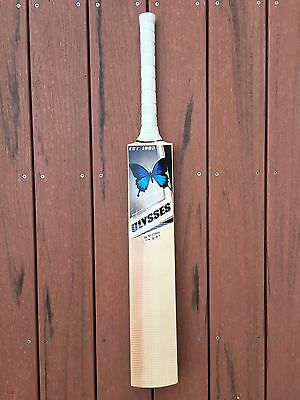 Ulysses English Willow SH Players Cricket Bat 40mm Edges 2.10 New