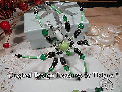 Treasures byTiziana® Tropical Rain Forest Lampwork White Frog Love Pet Spider