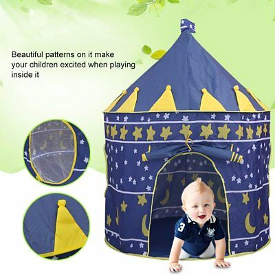 Foldable Children Kids Baby Pop Up Play Toy Tent Fairy Girls Boys Playhouse SA