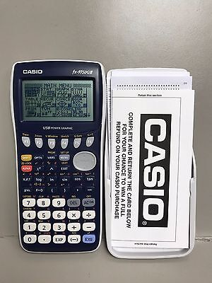 CASIO FX-9750GII Large Display Advanced Graphing Handheld Dynamic Calculator
