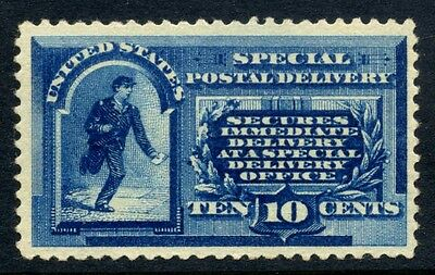 1885 US Special Delivery 10c Sc E1 NH Cat $1250