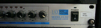 LAX SONIC SOLUTION CL202 Compressor / Limiter