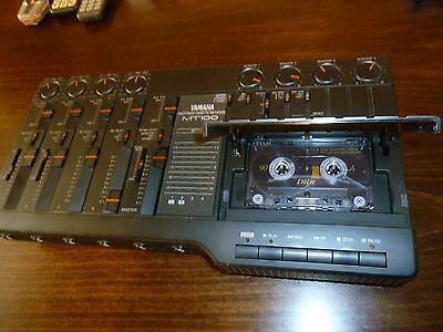 Yamaha MTT100 Multitrack 4-Track Cassette Recorder - Vintage Analog Sound