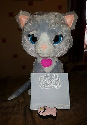 FurReal Friends Bootsie Kitty Cat Pet Meows Purr Soft-Fur Play Toy
