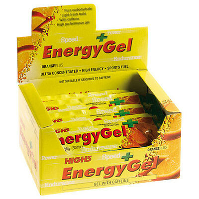 High 5 Energy Gel Plus 20 x 38g Gels - Raspberry