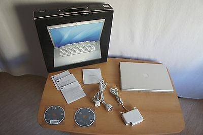 Apple MacBook Pro 15,4 Zoll 2,20GHz Intel Core 2 Duo 4GB RAM 120GB HDD 2007