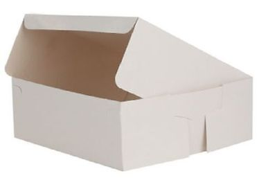11 Inch Folding Flat Pack Cake Box - Multiple Quantities of 25,50,75 & 100 boxes