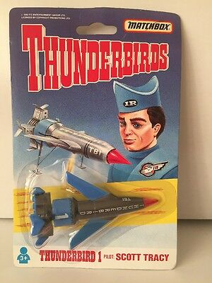 Vintage Matchbox Thunderbirds Thunderbird 1 diecast Scott Tracy 1992 sealed