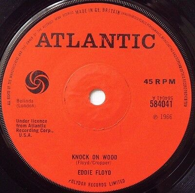 Eddie Floyd - Knock On Wood / Got To Make A Comeback - 1966 ATLANTIC (VG+)