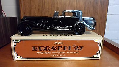 Avon Bugatti 1927 Collectable Car with Wild Country After Shave