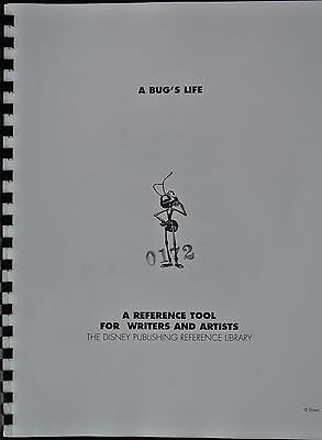 Walt Disney's Publishing Reference Guide for A Bug's Life 1996 Illustrated PIXAR