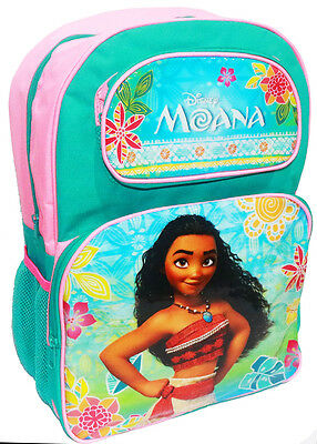 New Large Kids Backpack Disney Moana Girls School Bags Picnic Children Gift Maui