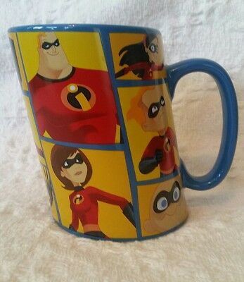 Disney Pixar The Incredibles Tall Slanted Coffee Mug