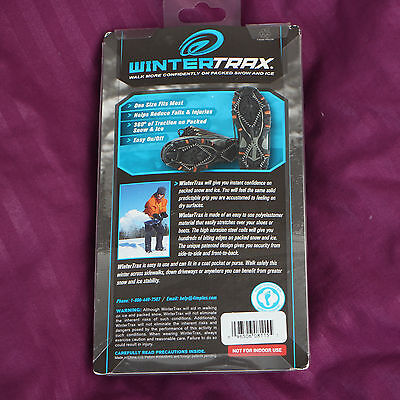 WinterTrax - Walk on packed snow and ice - Sizes 6 - 12 SNOW & ICE GRIPPERS
