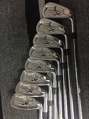 Callaway X Forged Irons 3-Pw Project X Flighted 5.0 Shafts R/H
