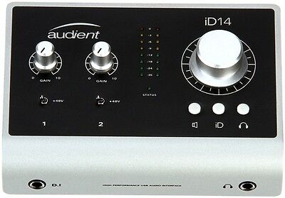 AUDIENT iD14 USB recording interface BRAND NEW NUOVO