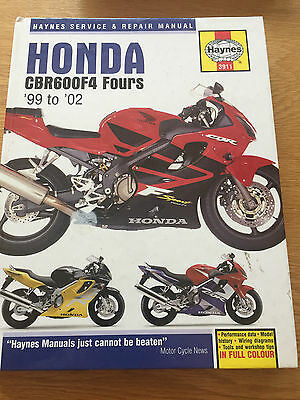 Honda CBR600 F4 Haynes Workshop Manual