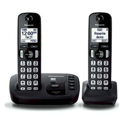 Panasonic Tgd222 Dect6.0 / 2 Headsets /with Answering Machine