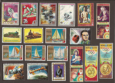 Equatorial Guinea (used) 2 x scans misc selection.