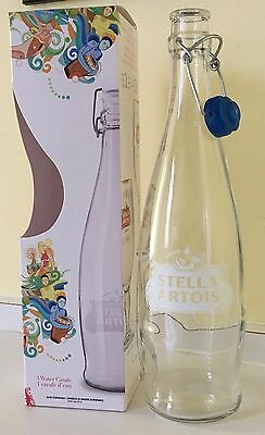 NIB Stella Artois Promotional Item Limited Edition Collectable Water Carafe