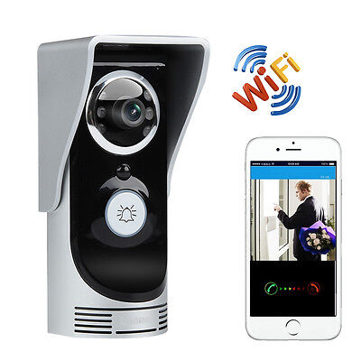 Wi-Fi Video Door Bell with Motion Detection Night Vision Camera