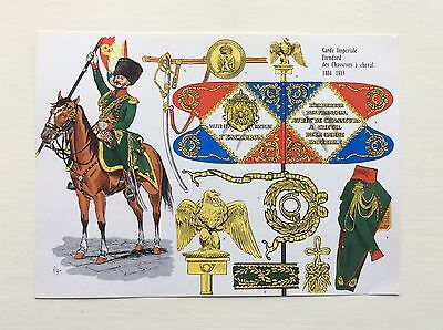 Le Plumet Print by Rigo No. 27 - French Napoleonic Chasseur a Cheval 1804-13