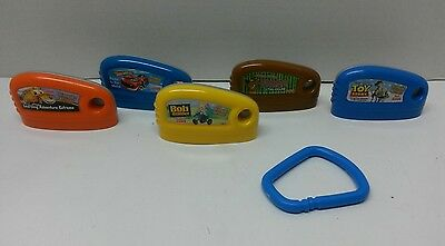 Fisher Price Smart Cycle Game Cartridges Lot of 5 Discontinued Learning Fitness