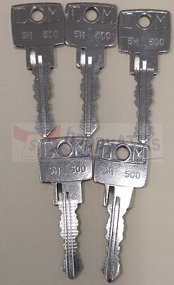 Wincor Atm Ccdm Cassette Keys Set Of 5 Pn: 5H-500
