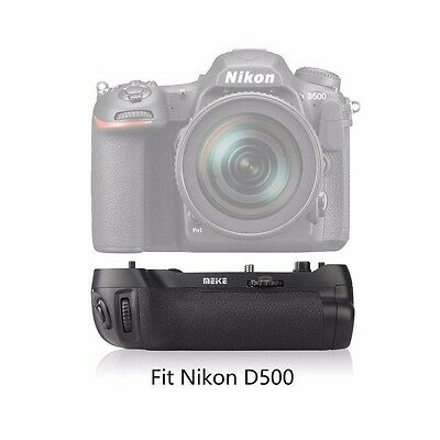 New Meike MK-D500 Vertical Battery Grip Shooting for Nikon D500 Camera as MB-D17