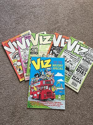 VIZ COMIC / MAGAZINE COLLECTION – 5 issues & Summer Special. GREAT CONDITION!