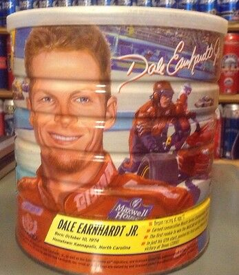 Dale Earnhardt Jr. NASCAR #8 Maxwell House Coffee 34.5 oz Can LIMITED EDITION