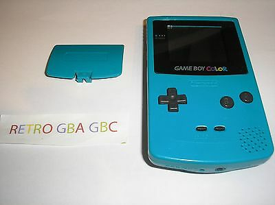 console game boy color bleu turquoise