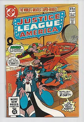 Justice League Of America #191 : Very Fine+ 8.5 : UK Pence Variant