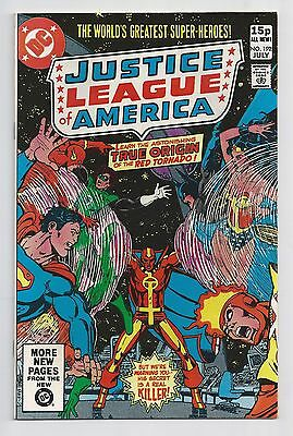Justice League Of America #192 : Very Fine/Near Mint 9.0 : UK Pence Variant