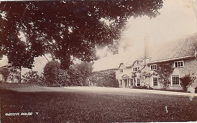 Discove House, Country House, Somerset, Rp, 1907