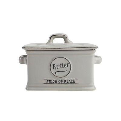 T&G Pride of Place Butter Dish Grey