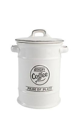 T&G Pride of Place Coffee Jar White