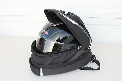 Ls2 Motorcycle Helmet Expandable Rucksack. All Full Face Helmets Fit In It
