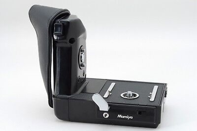 【Excellent+++】 MAMIYA Motor Drive Power Winder hand grip for M645 1000 #067