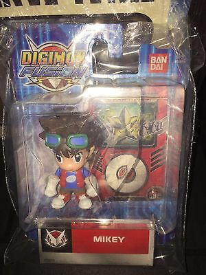 Digimon Fusion Mikey Action Figure new and sealed in packet