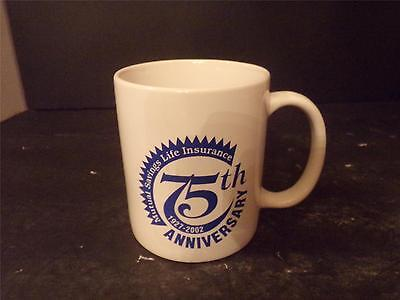 Mutual Savins Life Insurance Coffee Cup Mug 75Th Anniversary (55)