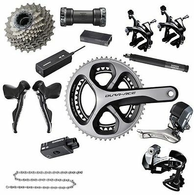 All New Shimano Dura Ace 9070 Di2 11sp Road groupset 1395GBP