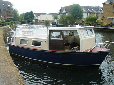 DUTCH BARGE,MID 1980,s,ALL SOLID STEEL,7M X 3M,RECENTLY REFURBISHED !