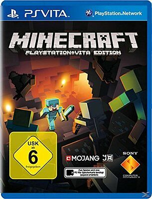 Minecraft PS Vita *NEU & OVP* Sony PlayStationVita Minecraft Vita Mobile deutsch