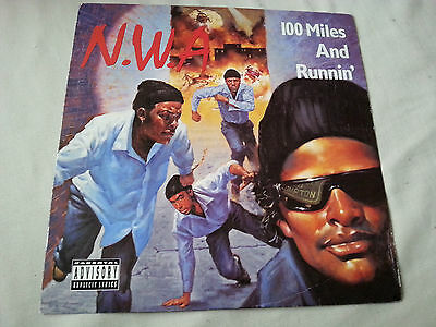 "N.w.a. - 100 Miles And Runnin' -  12"" Ep Vinyl"