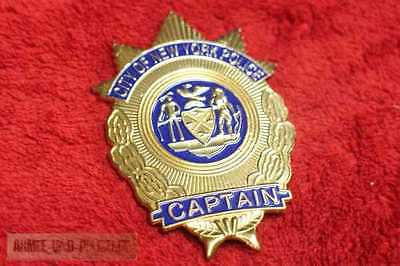 Captain City of New York Police Badge Abzeichen